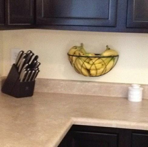 Banana holder idea...