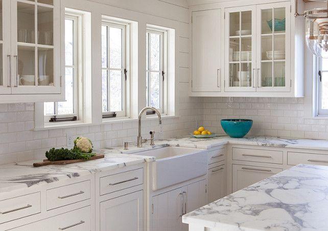 "Nantucket Shingle Cottage with Modern Coastal Interiors - ""Rare Kitchen Countertop"""