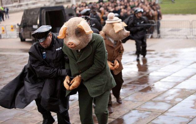 Three Little Pigs : La publicité de The Guardian