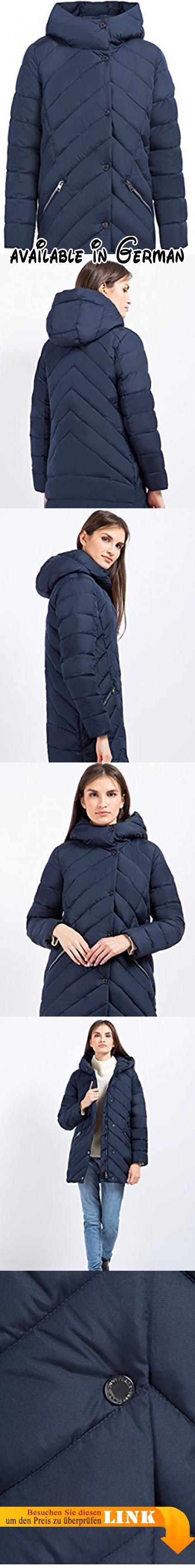 B07793QND8 : Finn Flare Damen Daunenjacke mit diagonalem Steppmuster Cosmic blue L. Modische Daunenjacke für den Winter. Aus leichtem und strapazierfähigem Polyester. Bequemer gerader Schnitt und gesteppte Optik. Hochschließender Kragen mit Kapuze. Mit einem Reißverschluss und Knöpfen