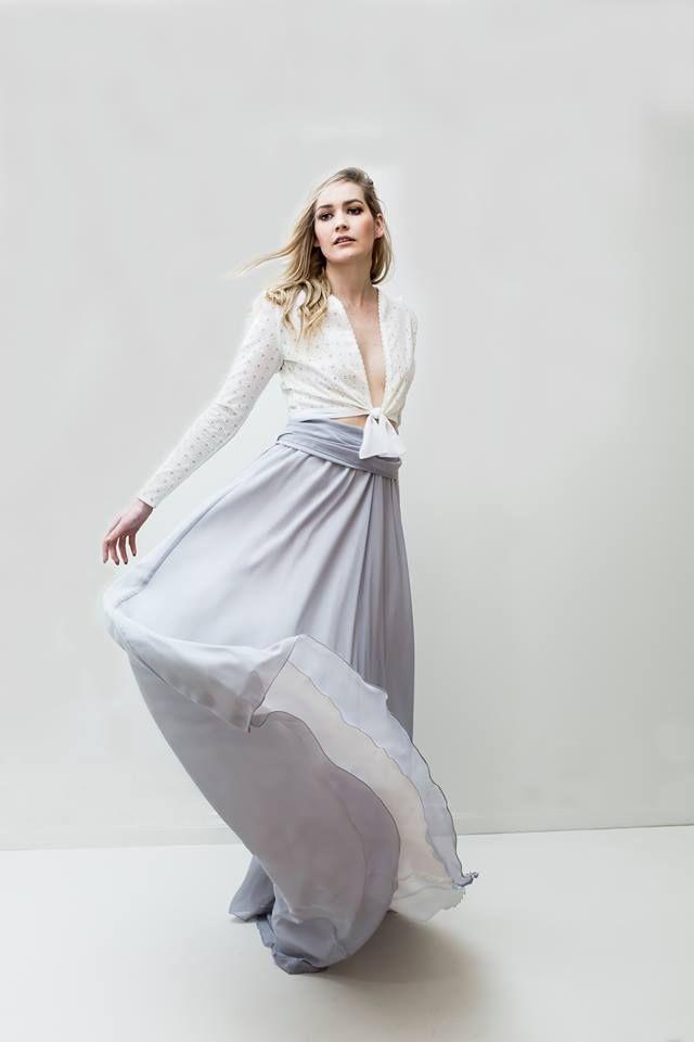 Leiela Silver Alida Skirt