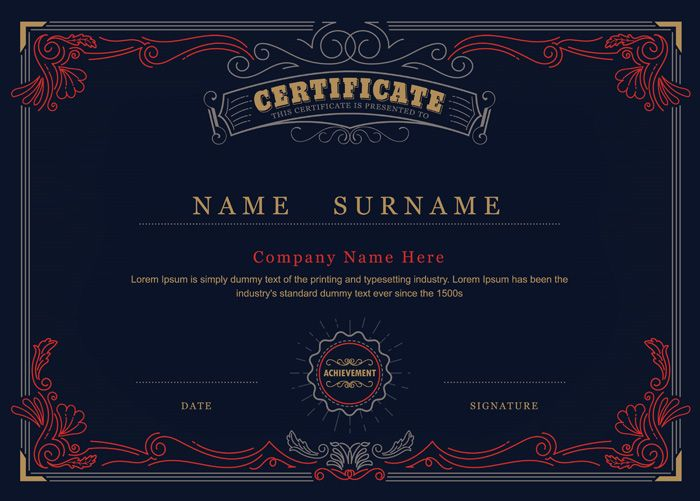 10 best Zen´s Certificates images on Pinterest Award - sample certificate of completion template