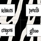 This product has 35 classroom labels in a cute zebra theme. I included labels for objects that I have in my own classroom. Some of the labels inclu...