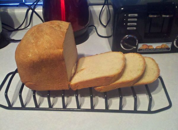 toasting bread machine recipe