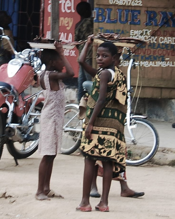 girls selling dried fish