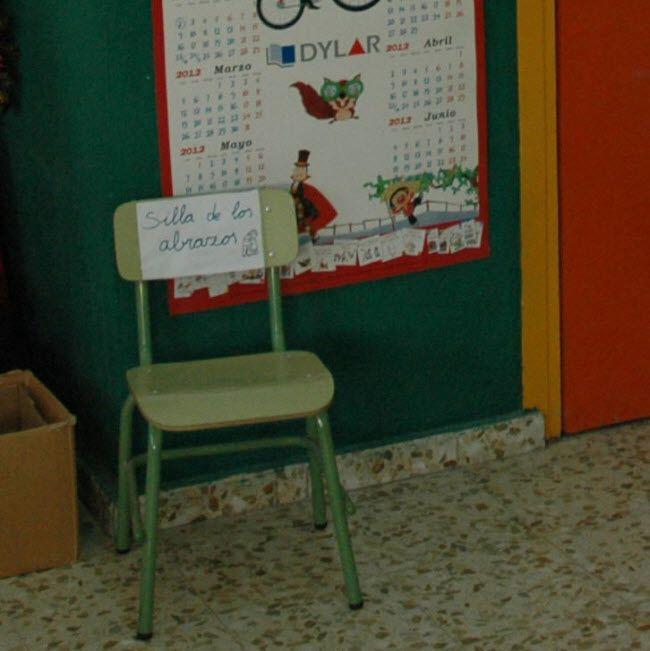 Aula: La silla de los abrazos   Aulas Creativas