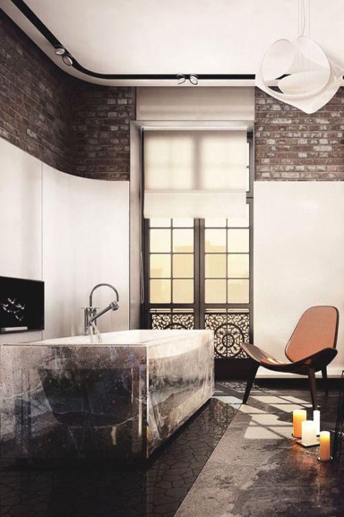 livingpursuit: Arctic Bathroom by KO + KO Architects