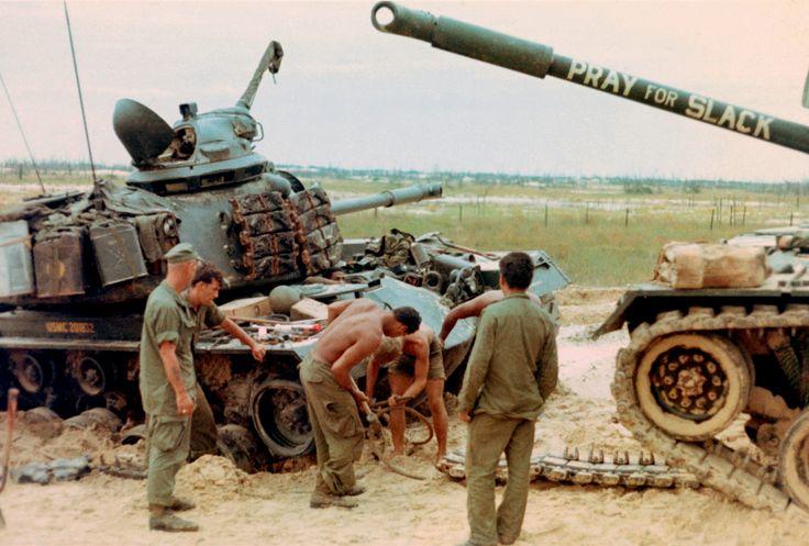North Vietnam Tanks Vietnam M48a3 Patton Tank