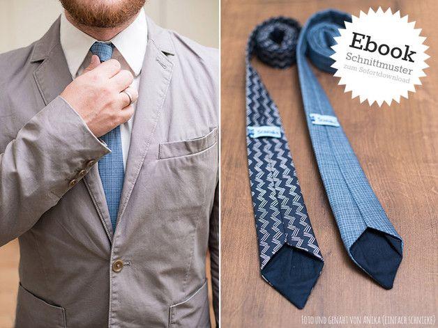 """Für festliche Anlässe und auch fürs Business-Outfit haben wir ein Krawatten-Schnittmuster für euch bzw. eure Jungs und Männer entwickelt. Die Krawatte """"Arne"""" kann in vier verschiedenen Größen..."""