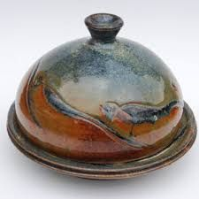 Image result for contemporary butter dish pottery