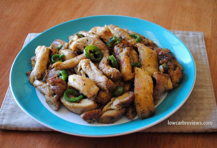 Salt and Pepper Chicken Shared on http://www.facebook.com/LowCarbZen