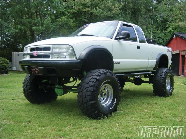 Jeep Swamp Buggy   1997 Chevy S 10