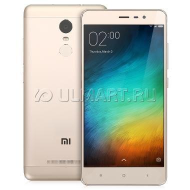 Смартфон Xiaomi Redmi Note 3 PRO Gold