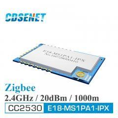 [ 61% OFF ] 2Pc/lot 2.4Ghz Cc2530 Zigbee Wireless Module Ipex Ipx Original Cdsenet E18-Ms1Pa1-Ipx 100Mw 1Km Smart Home Automation Module