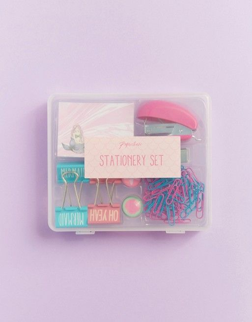 This stationary set from ASOS is super sweet, especially if your doing an office secret santa! You'll have everyone in the office wanting to borrow it!
