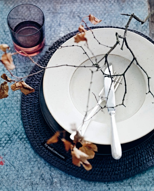 Simple Fall dining, by nord copenhagen