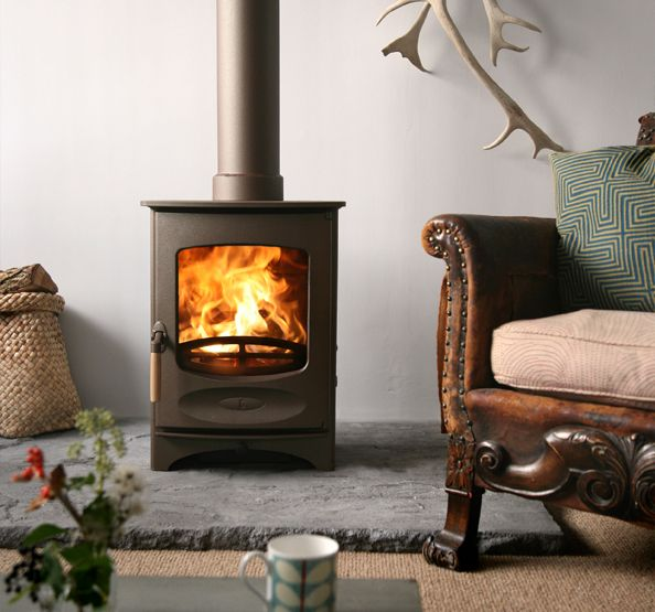 """The Isle of Wight is where this extremely popular stove is manufactured making it an ideal choice for those requiring """"Made in Britain"""". It is rumoured that the Charnwood C4 is the number one selling log burner within the United Kingdom, it's certainly a firm favourite at Stovefitter's."""