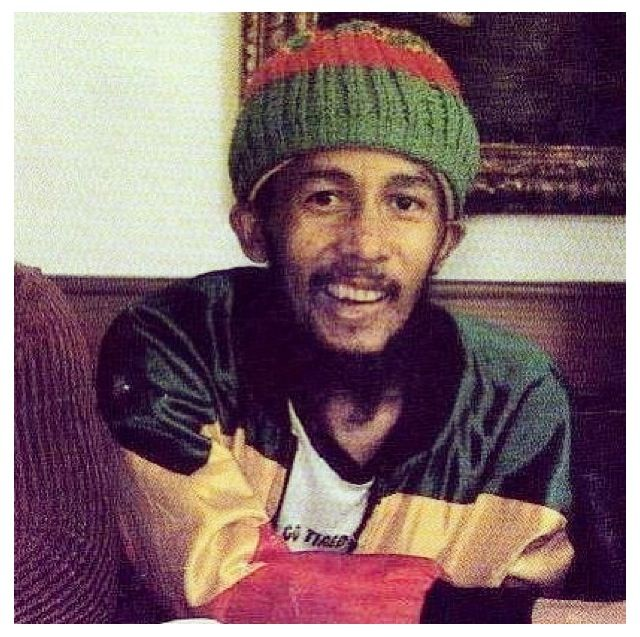 Bob Marley in his last days