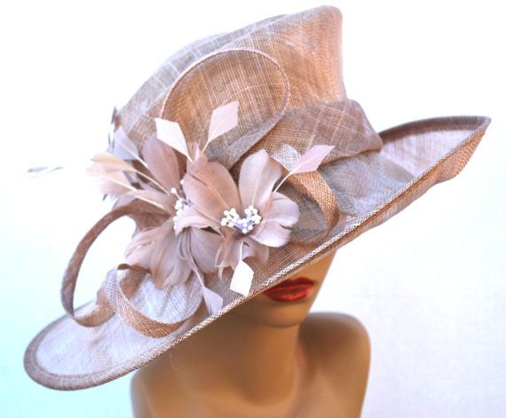 Kentucky Derby Hat Church hat Tea Party Hat by QueenSugarBee                                                                                                                                                                                 More
