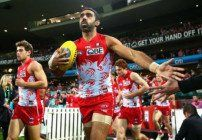 David Packman discusses the reaction to Sydney Swan Adam Goodes' 'war cry' goal celebration.