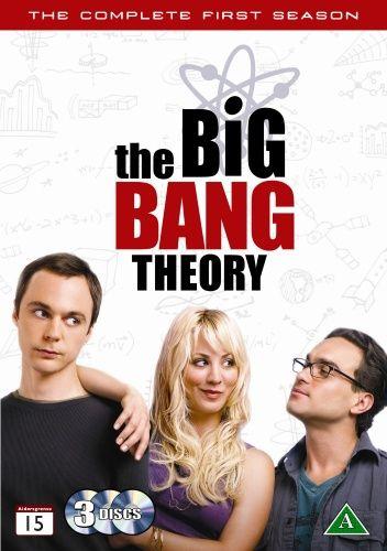 The Big Bang Theory - Kausi 1 (3 disc)