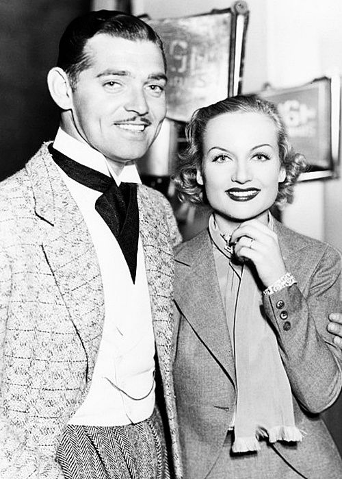 Clark and Carole. Despite remarrying twice following her death, Gable chose to…