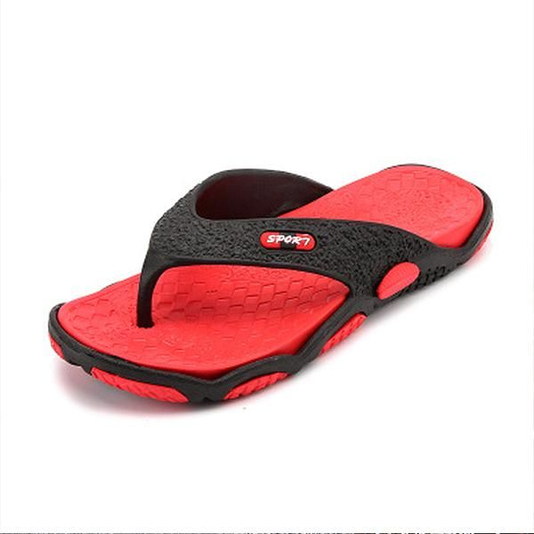 Mens Anti-slip Clip Feet Flip Flops Beach Slippers