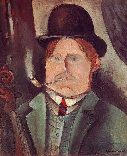 Self-Portrait M. De Vlaminck