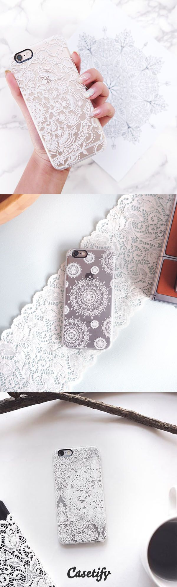Most favorite Lace iPhone 6 protective phone case designs | Click through to see more iPhone phone case idea >>> https://www.casetify.com/collections/lace | @Casetify  https://www.casetify.com/collections/lace#/