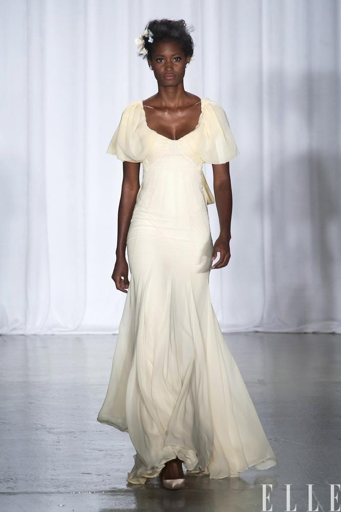 Robe de mariée: Inspirations des défilés printemps-été 2014 (Zac Posen) | Elle Québec