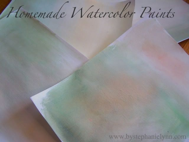 Homemade watercolor paints - fun project for kids  #DIY #arts #crafts