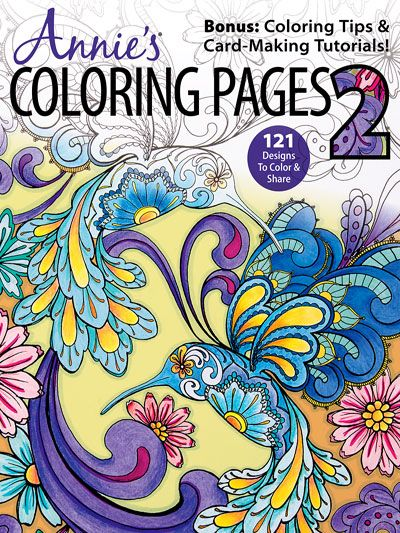 NEW Coloring Book Annies Pages 2 With Original Artwork From Popular Illustrator Nicole Tamarin
