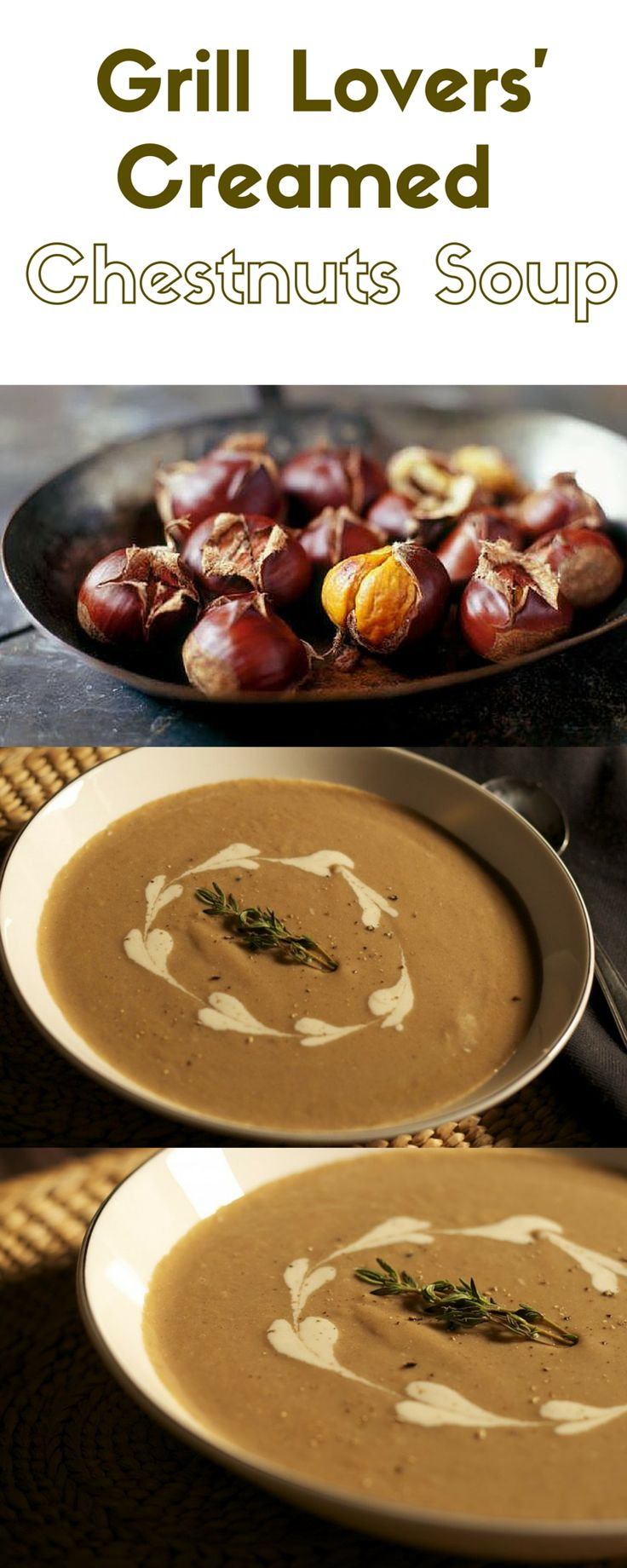 Grill Lovers' Amazing Creamed Chestnuts Soup Recipe   #recipes #foodporn #foodie