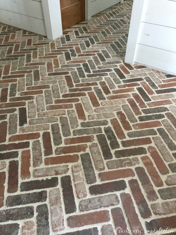 Thinking About Putting A Brick Floor In Your Home Read This Post For Information About Where To Buy Brick Tiles C Brick Tiles Brick Flooring Brick Tile Floor