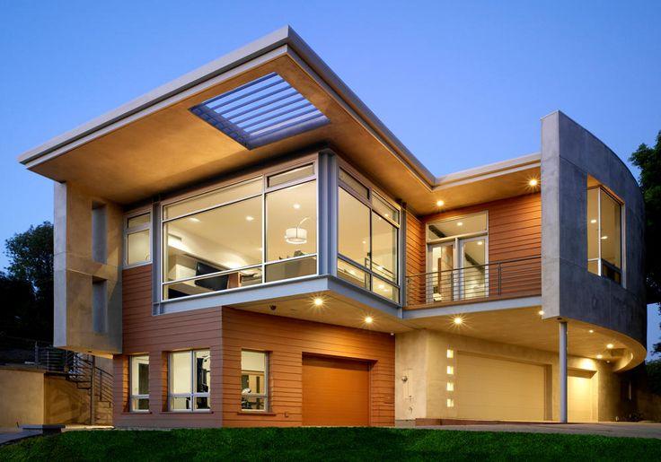 modern homes exterior views modern houses pinterest house design and big glasses