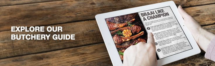 Explore our famous steak houses for a hearty meal  https://www.checkers.co.za/food/butchery.html