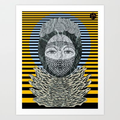 Vesi Art Print by Milena Taranu - $17.68