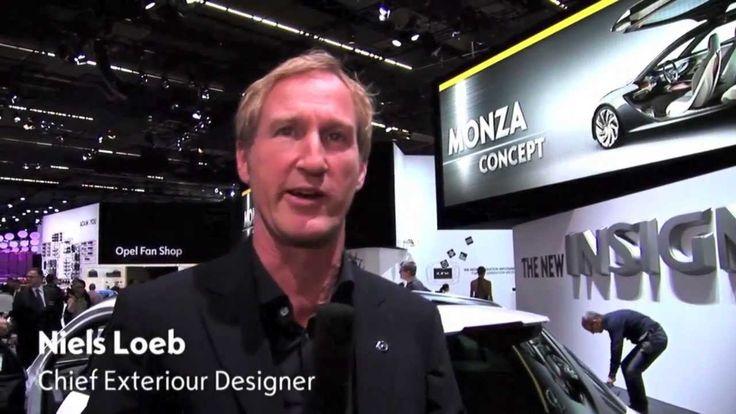 Exterior designer Nils Loeb explains the design features of the new Insignia Country Tourer