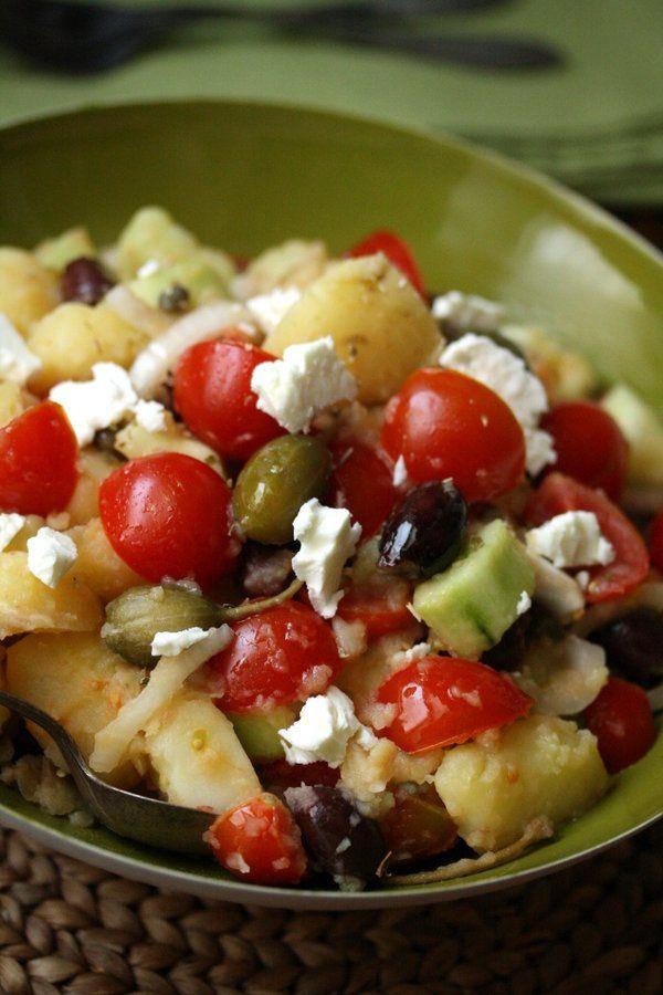 Healthy Greek Potato Salad   Quick & Easy   Gluten-Free Homemade