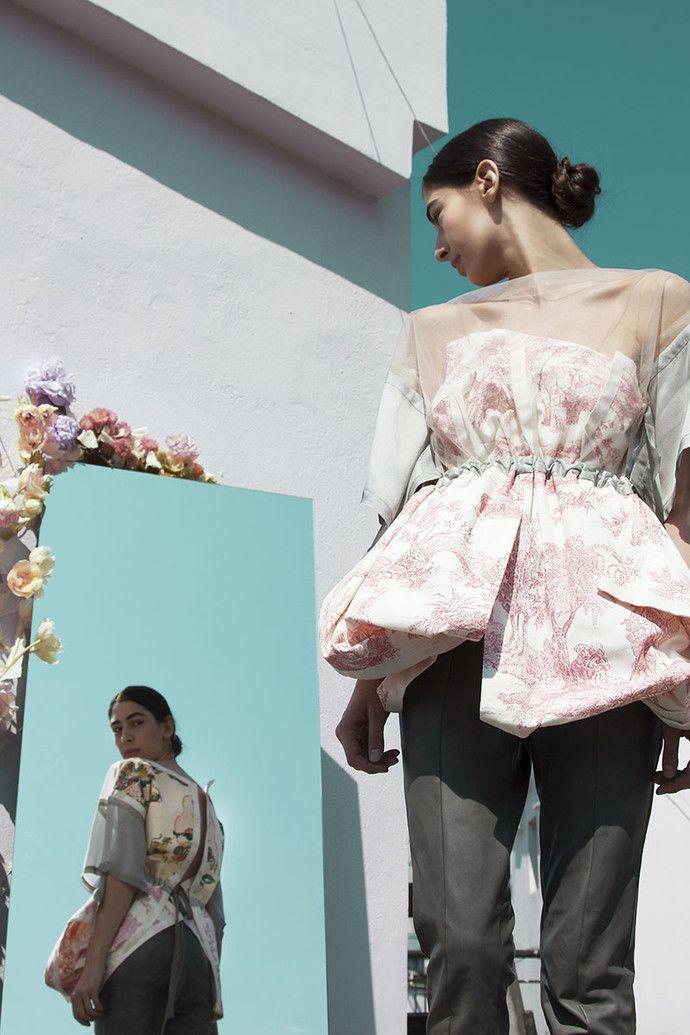 Asiya Bareeva - back-front design asymmetry