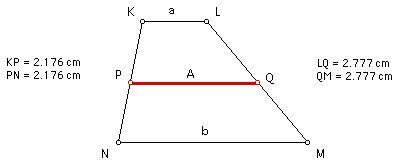 Arithmetic Mean A = (a + b)/ 2
