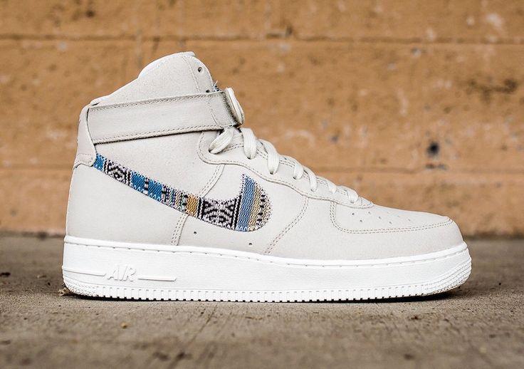 "http://SneakersCartel.com Nike Air Force 1 High '07 LV8 ""Afro Punk"" in Light Bone #sneakers #shoes #kicks #jordan #lebron #nba #nike #adidas #reebok #airjordan #sneakerhead #fashion #sneakerscartel"