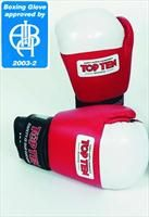 Top Ten Olympic Aiba Stamp Contest Glove 10Oz - Filled with bayflex padding which not only protects the fighter while being hit http://www.comparestoreprices.co.uk/boxing-equipment/top-ten-olympic-aiba-stamp-contest-glove-10oz-.asp