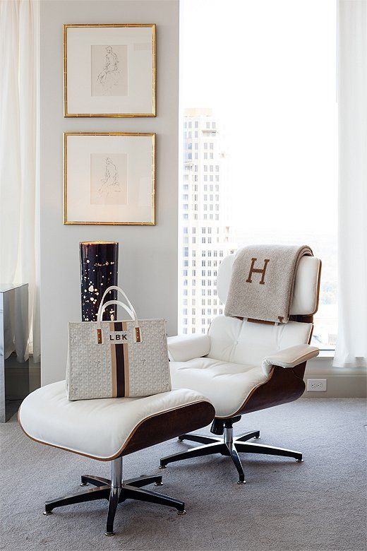 At Home with Lee Kleinhelter - 25+ Best Ideas About Eames Lounge Chairs On Pinterest Eames