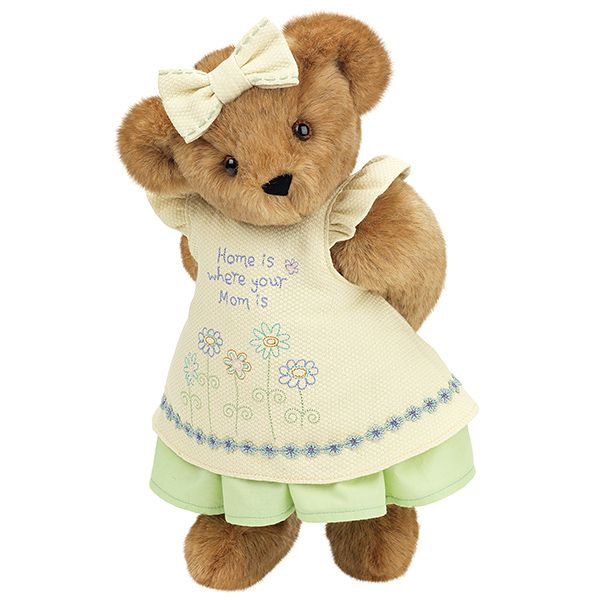 "15"" ""Home is Where Your Mom Is"" Bear from Vermont Teddy Bear. $79.99. #MothersDay"