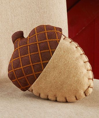 Shaped Fall Pillows