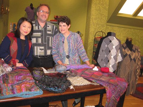 Mitered Knitting with Laura Bryant and Barry Klein, from Knitting Daily TV Episode 805 - Knitting Daily