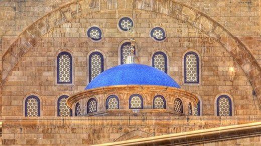 Vakker moské i Beirut, Libanon -  Beautiful mosque in Beirut, Lebanon http://travels.kilroy.no/destinasjoner/midtosten/libanon/beirut