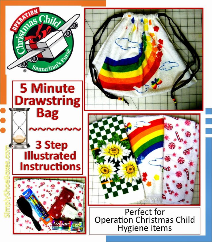 Craft Ideas For Operation Christmas Child Shoeboxes