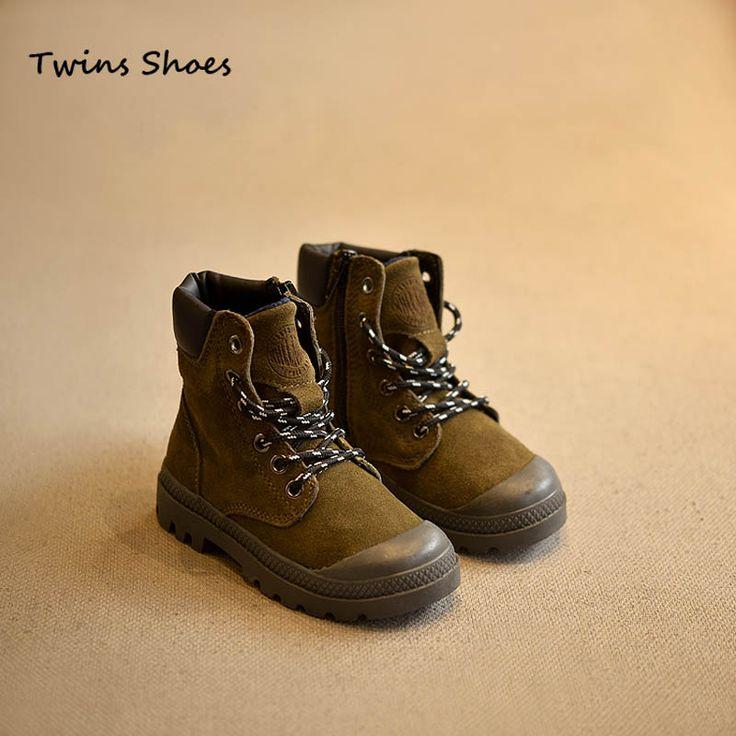 2015 зимние из натуральной кожи дети сапоги детские теплые ботинки девушки студент сапоги загрузки мартин загрузки анти удар армейские ботинкикупить в магазине The Twins ShoesнаAliExpress
